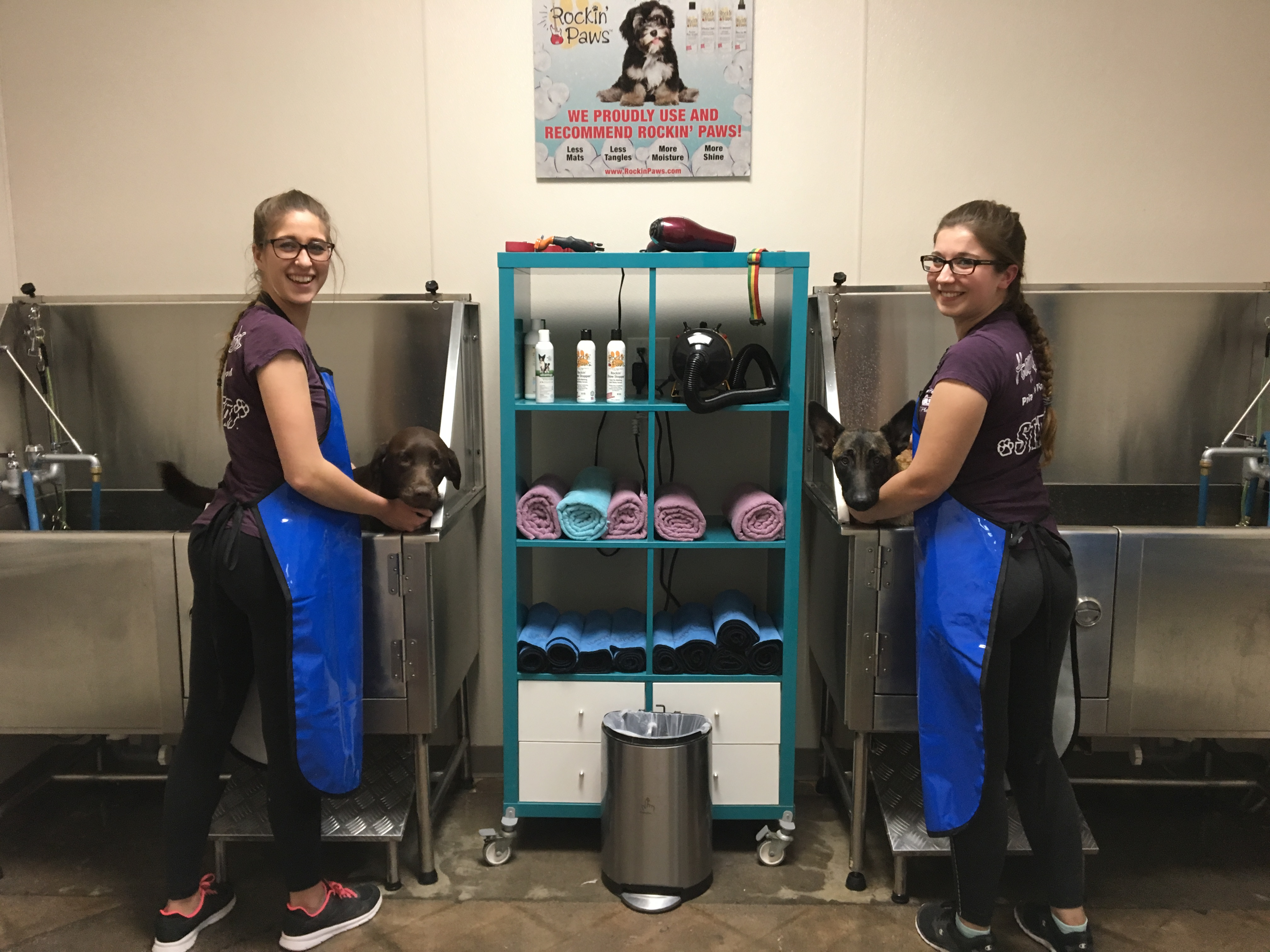 Dog wash happy pets palace come check out our self service dog wash where we provide you a clean and spacious area where you can comfortably wash your dog solutioingenieria Gallery